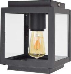 Zwarte Urban Interiors plafondlamp 'Loft', kleur Vintage Black
