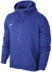 Sweatjacke Team Club Full Zip Hoody mit Vislon-Reißverschluss 658497 Nike Royal Blue/White