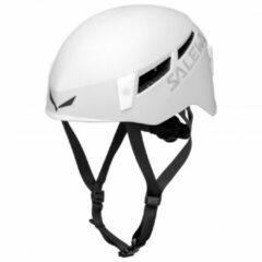 Grijze Salewa - Pura Helmet - Klimhelm maat L/XL grijs/wit