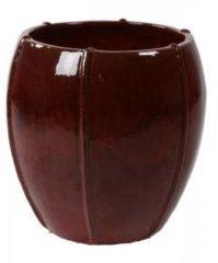 Ter Steege Moda bowl bloempot 43x43x43 cm rood