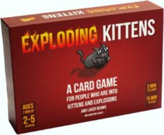Asmodee Exploding Kittens Original Edition - Engelstalig Kaartspel