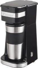 Zwarte Bestron ACM112Z koffiezetapparaat Half automatisch