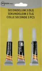 Benson - Secondelijm - Superglue 3 stuk - .. ML