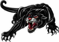 Zwarte Avisa Aufkleber Panther -schwarz - 33x23cm