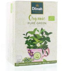 Dilmah Pure groen biologisch 20 Stuks