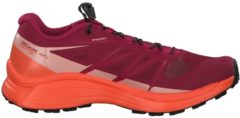 Trail Runningschuhe Wings Pro 3 W mit Ortholite®- Einlegesohle 401473 Salomon Beet Red/Nasturtium./Coral Almond