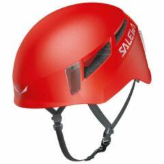 Rode Salewa - Pura Helmet - Klimhelm maat S/M rood