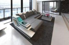 Sofa Dreams Ledersofa Ravenna L Form