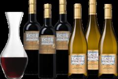 Wijnvoordeel Wijnpakket Calle Principal Edicion Limitada - 6 flessen + karaf