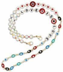 Gouden Boho Ibiza Ketting - Armband - Brillenkoord - Multi Colour - Dames - Lieve Jewels