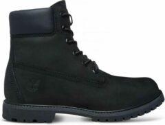 "Zwarte Timberland Dames Boots 6"" Premium - Black - Maat 39"