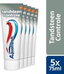Aquafresh Tandsteen Control 5x75ml - Tandpasta