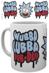 Witte Cartoon Network Rick and Morty Wubba Lubba Dub Dub - Mok