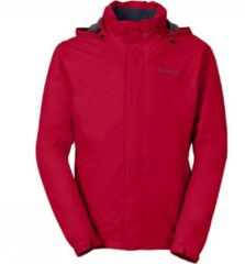 Rode Vaude Men's Escape Bike Light Jacket fietsjack Mannen - indian red