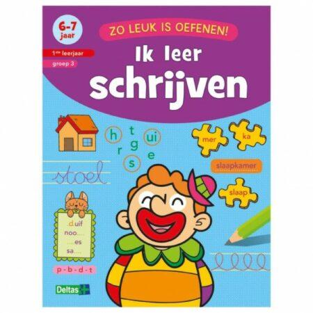 Afbeelding van Zuid-Nederlandse Uitgeverij N.V. / Centrale Uitgeverij Ik leer schrijven 6-7 jaar 1ste leerjaar groep 3