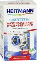 HEITMANN Express wasmachinereiniger – Ontkalker voor wasmachine – Verwijdert kalk, vetresten en geuren - 250g