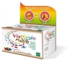 Sofar Vitamin 360 MultiB integratore alimentare utile per i bambini 60 confetti al cioccolato