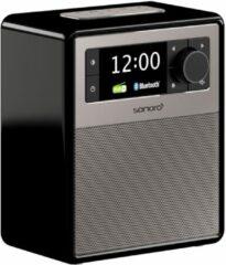 Sonoro EASY V2 Draagbare DAB+ Radio + Bluetooth - zwart