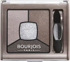 Huidskleurige Bourjois SMOKY STORIES QUATUOR - 05 - Dark brown - Light brown - Silver