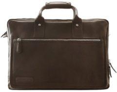 270er Serie Aktentasche Leder 44 cm Laptopfach Plevier cognac