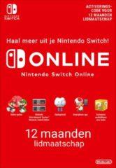 Nintendo digitaal 12 maanden Online Lidmaatschap - Nintendo Switch