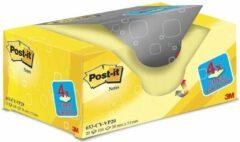 Gele Value Pack: Post-it® Notes, Canary Yellow™, 38 x 51 mm, 100 Blaadjes/Blok, 16 Blokken + 4 GRATIS