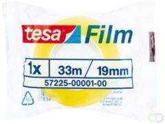 Transparante Tesa Film Plakband - 19 mm x 33 m - Standaard