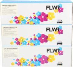 FLWR - Toners / 131A 3-pack / CMY kleur (Compatible) - Geschikt voor HP