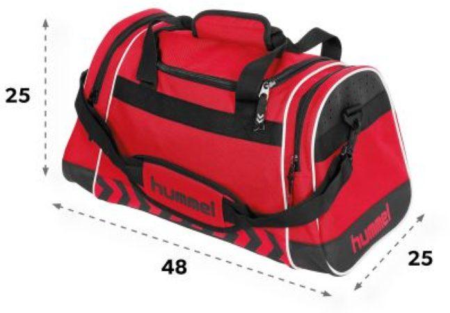 Afbeelding van Hummel Sheffield Bag Sporttas - Rood - Maat One Size