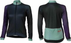 XLC - Fietsshirt Race Lange Mouw - Dames - Blauw/Paars - maat S