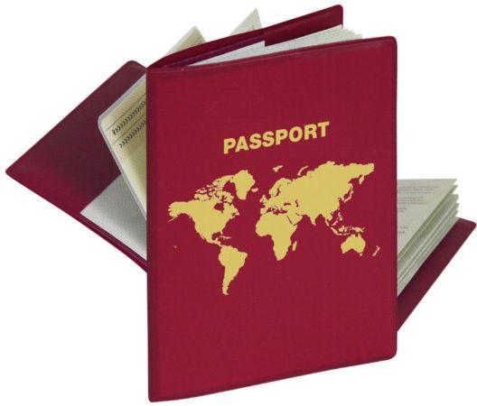 Afbeelding van Herma Schutz für Reisepass (1 Hülle mit 2 Innentaschen) RFID-beschermhoesjes