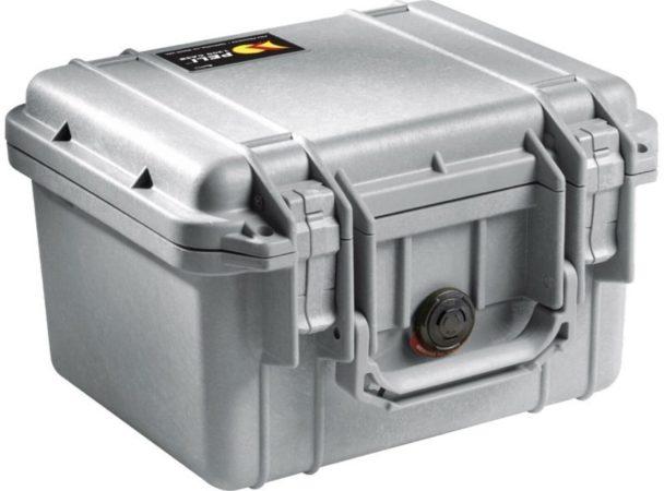 Afbeelding van Peli Case - Camerakoffer - 1300 - Zilver excl. plukschuim 25,10 x 17,80 x 15,50 cm (BxDxH)
