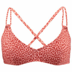 Barts - Women's Bathers Cross Back - Bikinitop maat 36, rood/beige