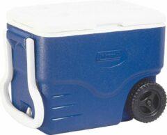 Coleman 40QT Performance Koelbox op wielen - 37,5 Liter - Blauw