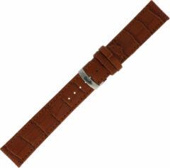 Morelatto Horlogebandje Juke Alligator Cognac 22mm