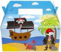Lg-imports Menubox Piraat Jongens 22 X 12 Cm Karton