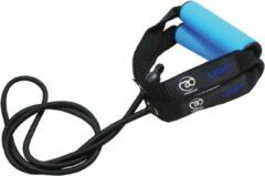 Fitness-mad Weerstandsband 1,3 Meter Rubber/foam Zwart/blauw