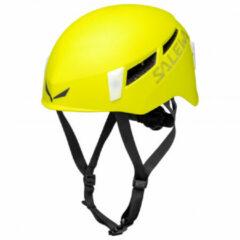 Salewa - Pura Helmet - Klimhelm maat L/XL, geel/zwart