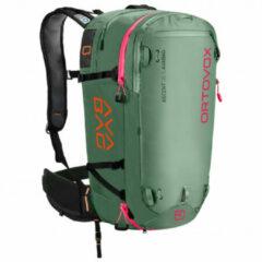 Ortovox - Ascent 38 S Avabag - Toerskirugzak maat 38 l - S, olijfgroen/groen/grijs/zwart