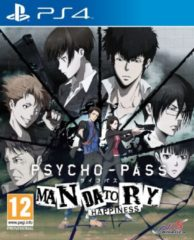 NIS America Psycho-Pass, Mandatory Happiness PS4 (76422)