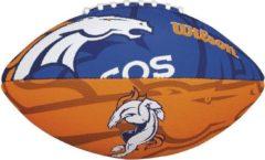 Blauwe Wilson Nfl Team Logo Broncos American Football