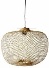 Zwarte Bloomingville bamboe hanglamp