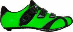 Nalini Fietsschoenen - Maat 42 - Unisex - groen,zwart