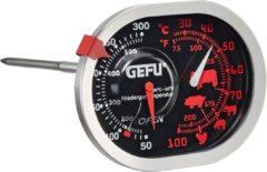 Zilveren GEFU braad-/oventhermometer 3-in-1, edelstaal, MESSIMO
