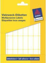 Avery Zweckform 3323 mini etiketten ft 38 x 14 mm (b x h), 928 etiketten, wit