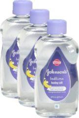 Johnson &   Johnson Johnson's Baby Olie – Bedtime - Voordeelverpakking 3 x 300 ml