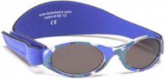 Banz - UV-beschermende zonnebril voor kinderen - Bubzee - Blauw Camo - maat Onesize (0-2yrs)
