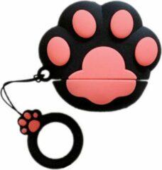 Misk Products Airpods Hoesje | Airpods Case | Dieren | Honden Pootje | Sinterklaas Cadeau | Sinterklaas Cadeautjes | Zwart