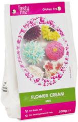 Witte FLOWER CREAM MIX GLUTEN FREE 300g. bakmix | bakmixen .Taartingrediënten en bakspullen glutenvrij bakmixen kopen. Tasty Me.