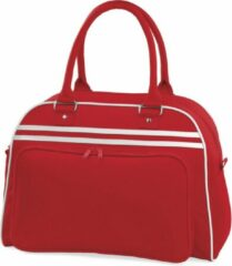 Rode Bagbase Retro Schoudertas Classic Red/White 23 Liter